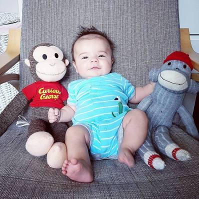 Isaac 3 months