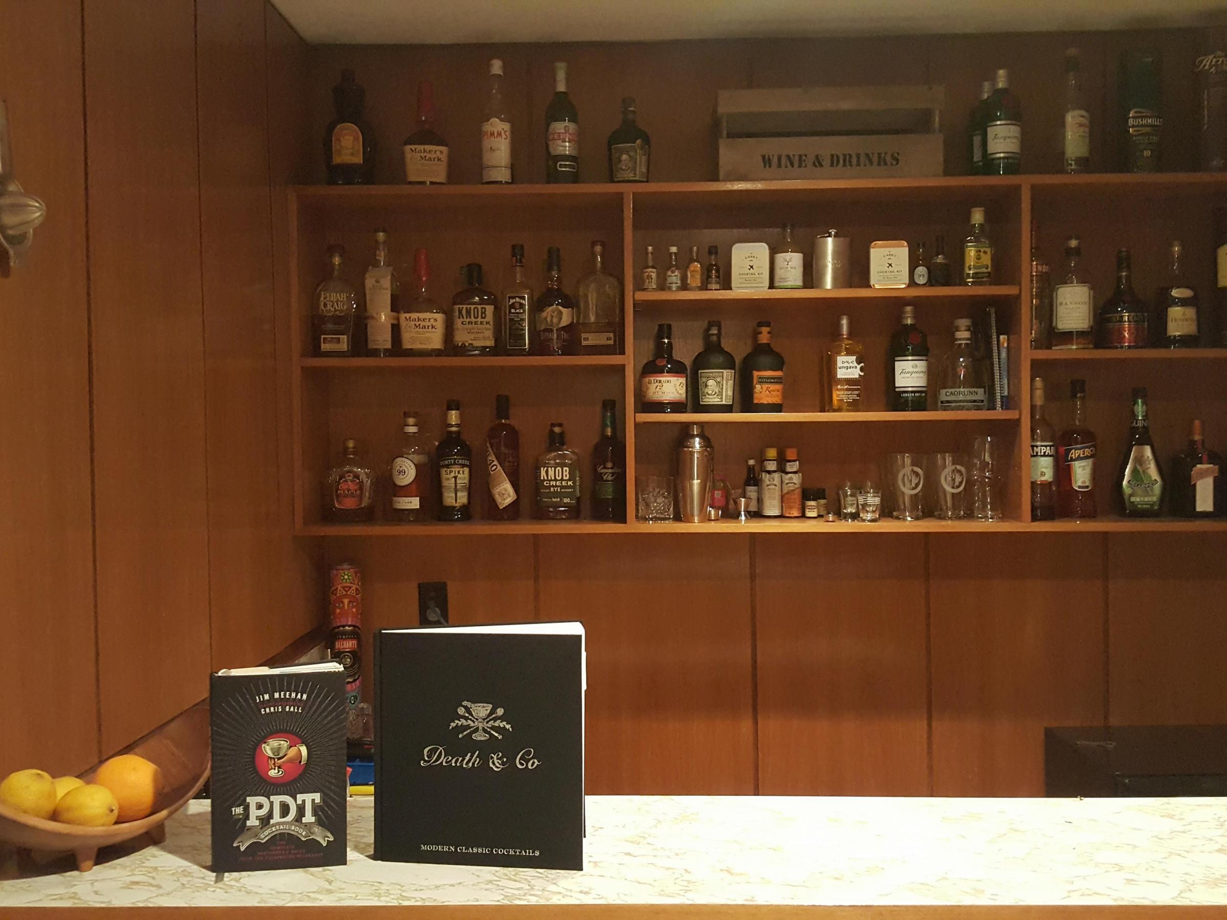 Cocktails Bartender Recipe Bar Winnipeg canada Investing Bourbon