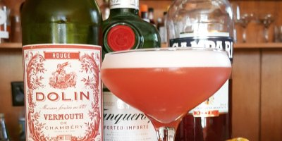 Negroni Cocktail Gin campari vermouth dolin
