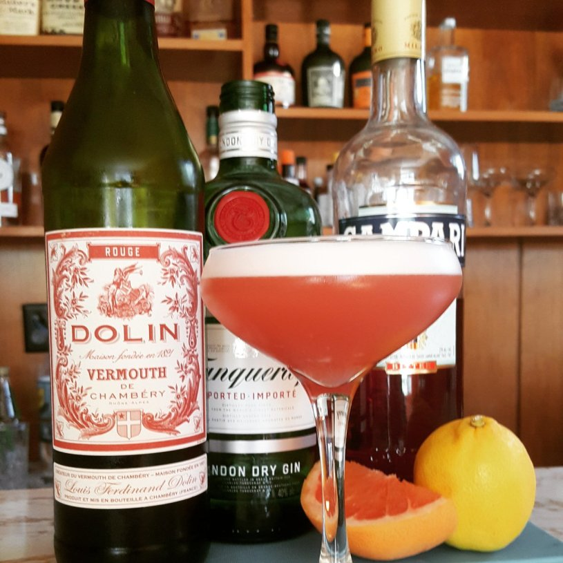 Negroni Cocktail Gin campari vermouth dolin