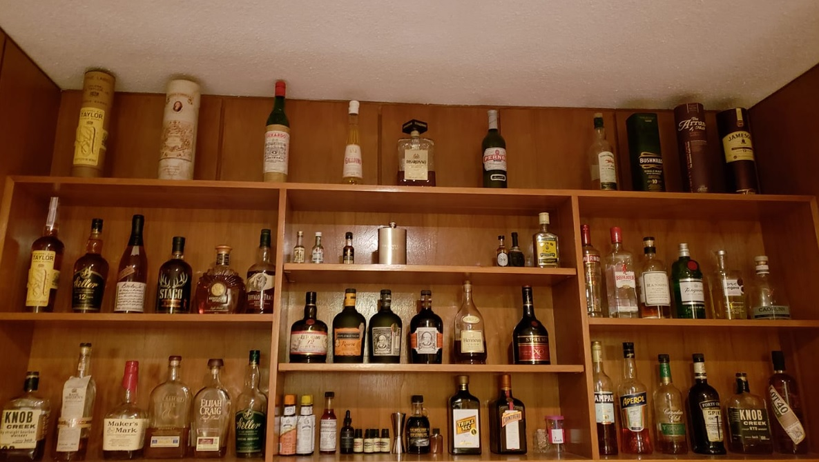 My Current Home Bar