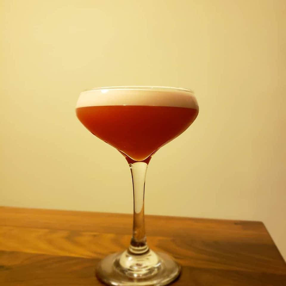 Bourbon Sour Cocktail
