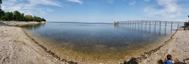 whytewold pier and beach