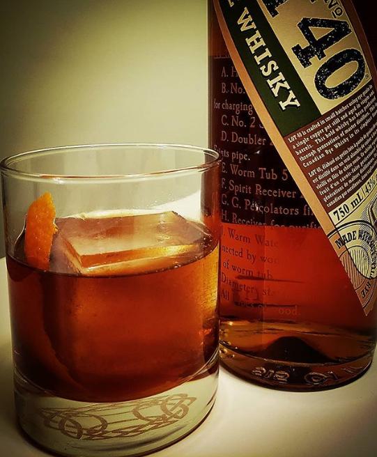 Lot 40 Rye Old Fashioned