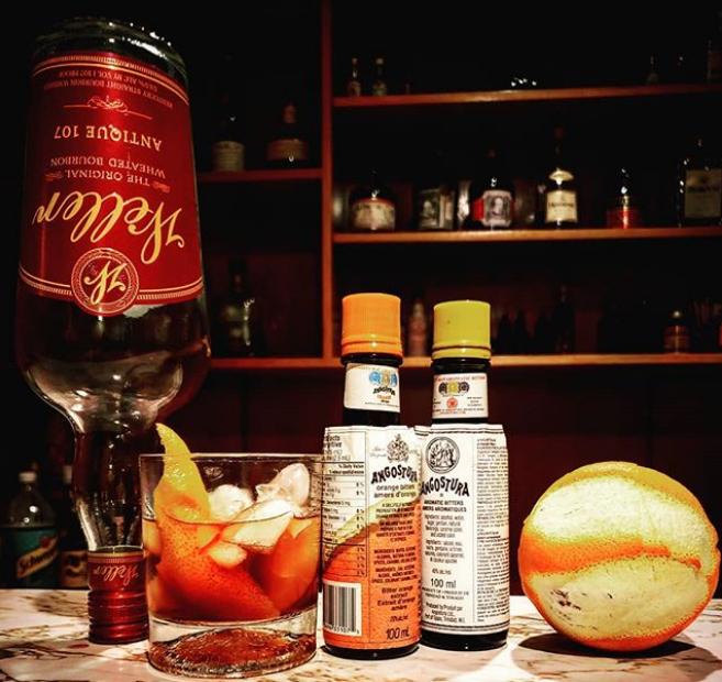 Weller Antique Bourbon Old Fashioned