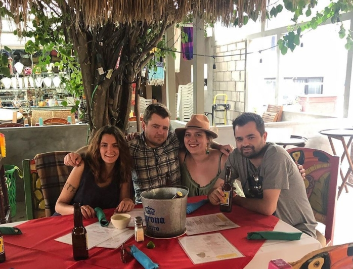 Family time in Mexico