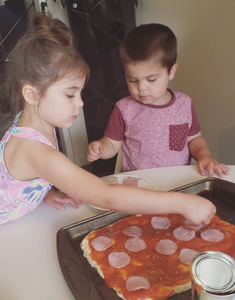 Home made pizza