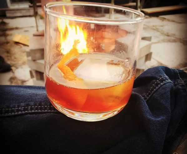 Birch Syrup Old Fashioned