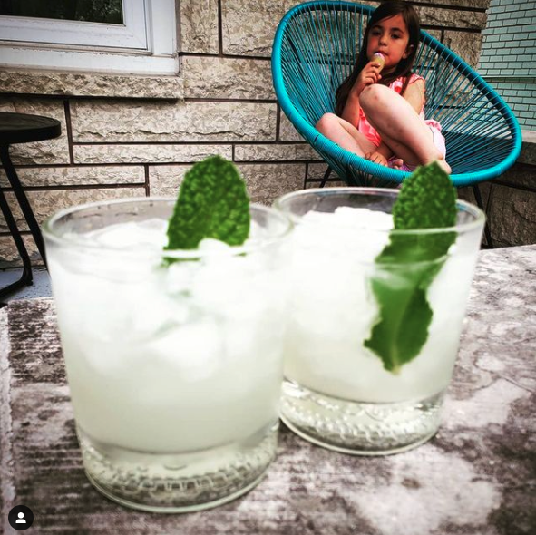 Gin Mint Cocktail