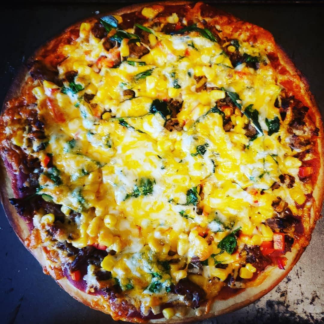 Garlic Sausage Pizza